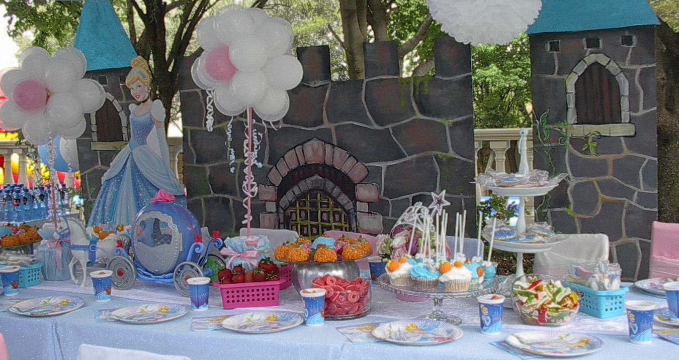 Cinderella Themed Party Decor and Props