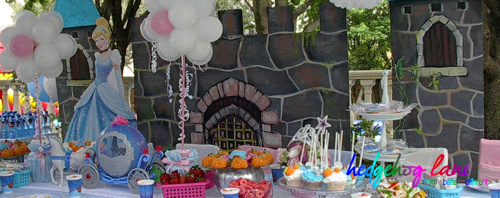 Cinderella Themed Kids Party Decor and Props